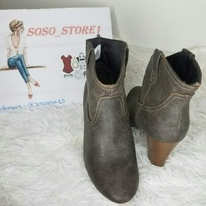 Old Navy Grey Booties Size 7